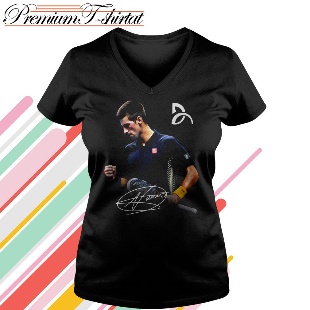 Novak Djokovic Signature Shirt Hoodie Sweater Tank Top And V Neck T Shirt