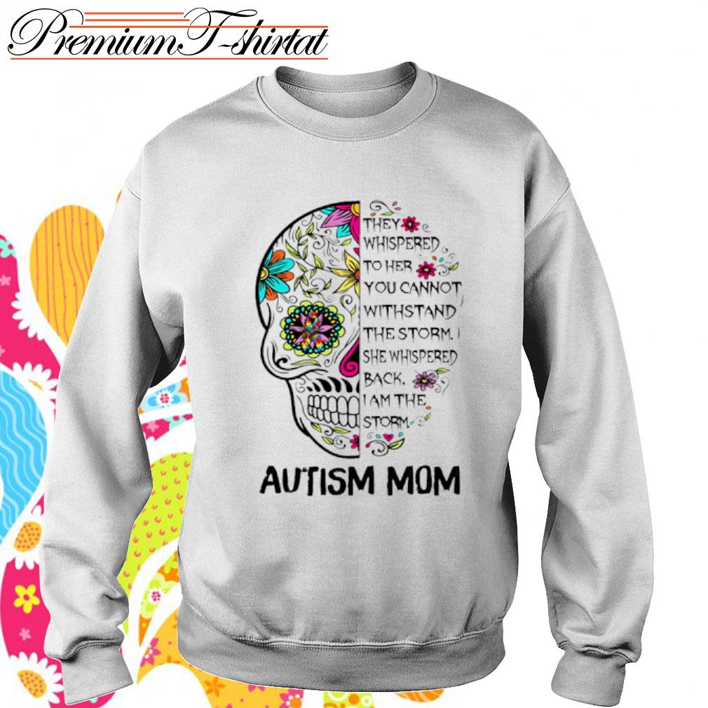 Sugar Skull Diabetes Awareness They Whispered to her you cannot withstand the storm s sweater