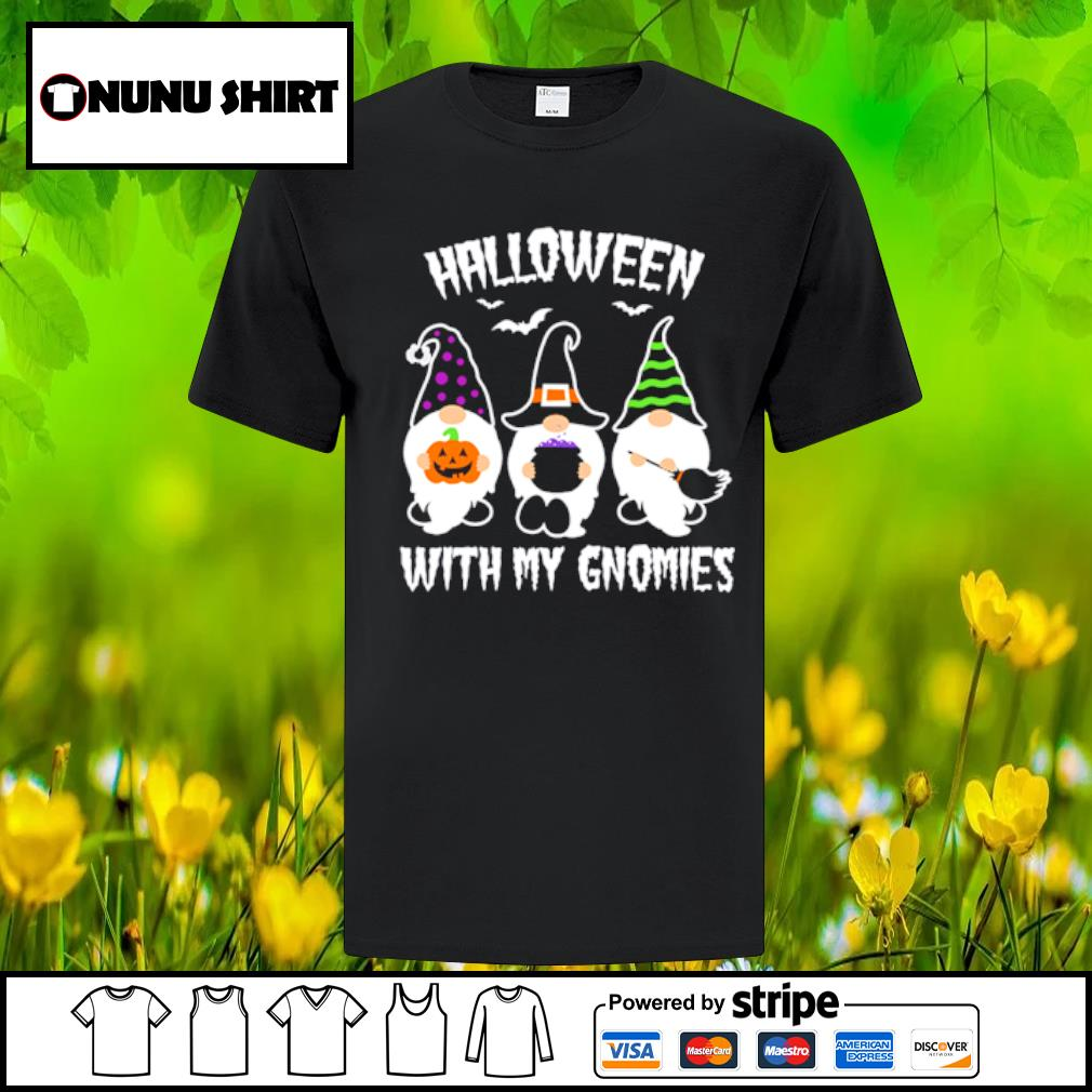 Case Gnomes Halloween with my gnomies shirt