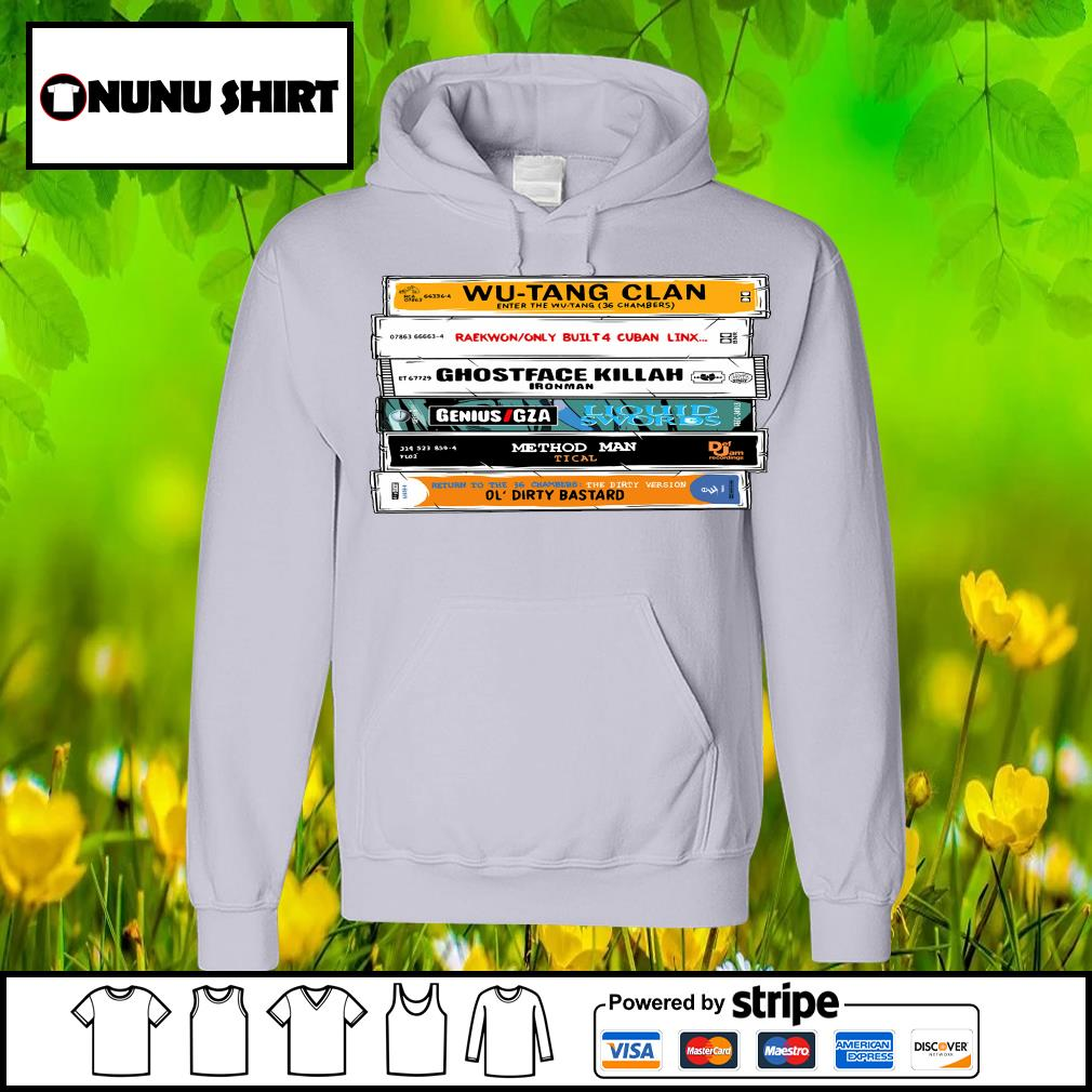 Cat Wu-Tang Sticker The Wu Tapes Hand-Illustrated s hoodie