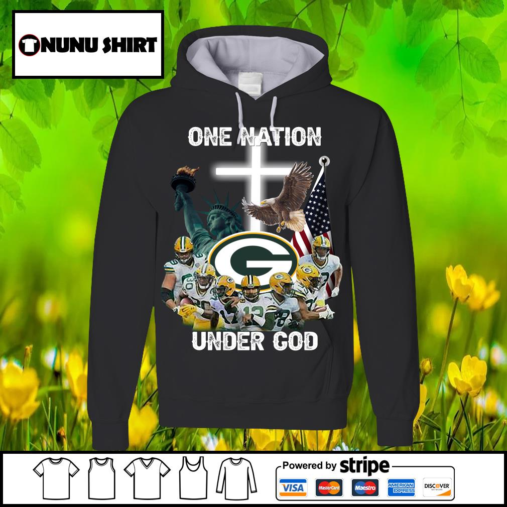Green Bay Packers one nation under god s hoodie