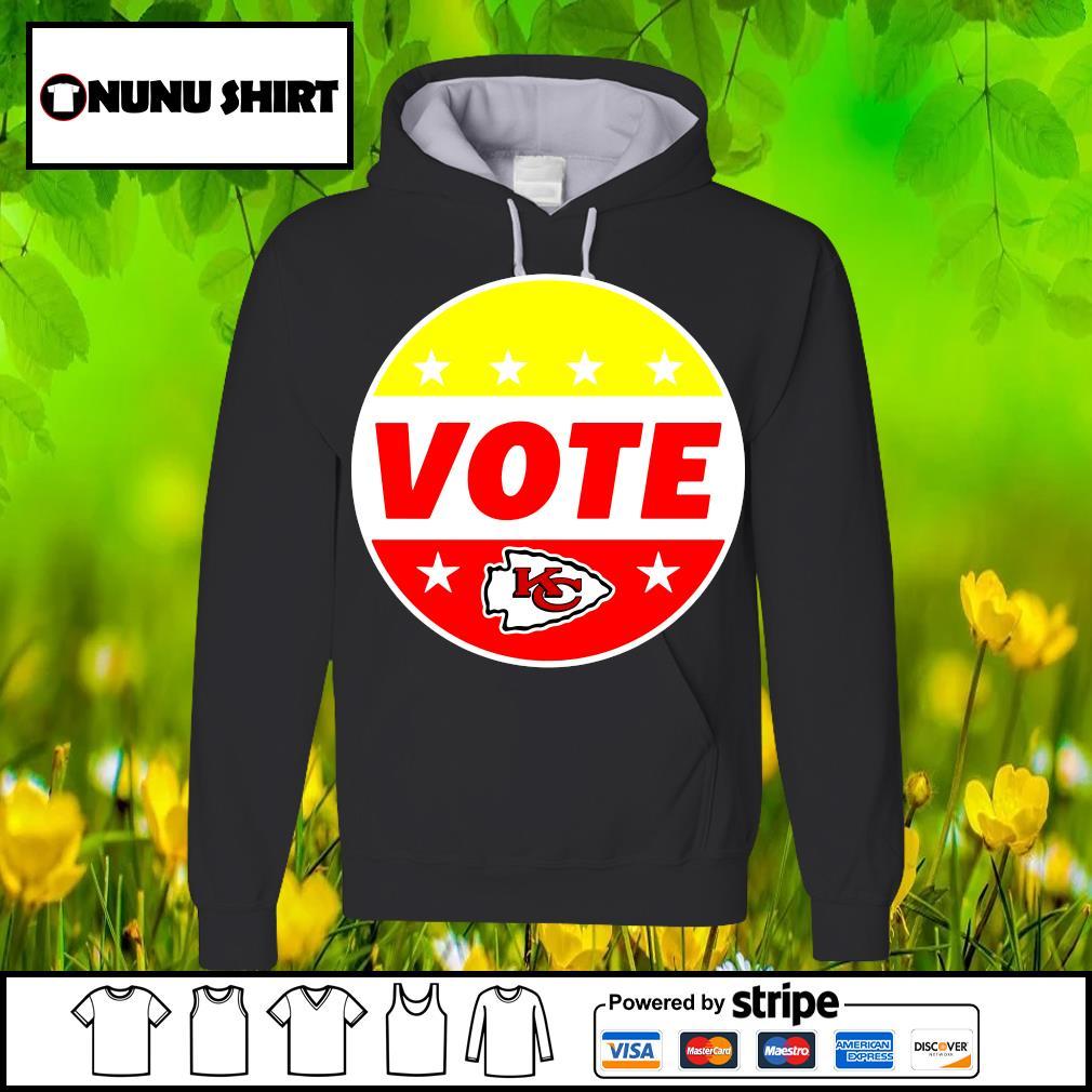 Kansas City Chiefs Patrick Mahomes Chiefs Vote s hoodie