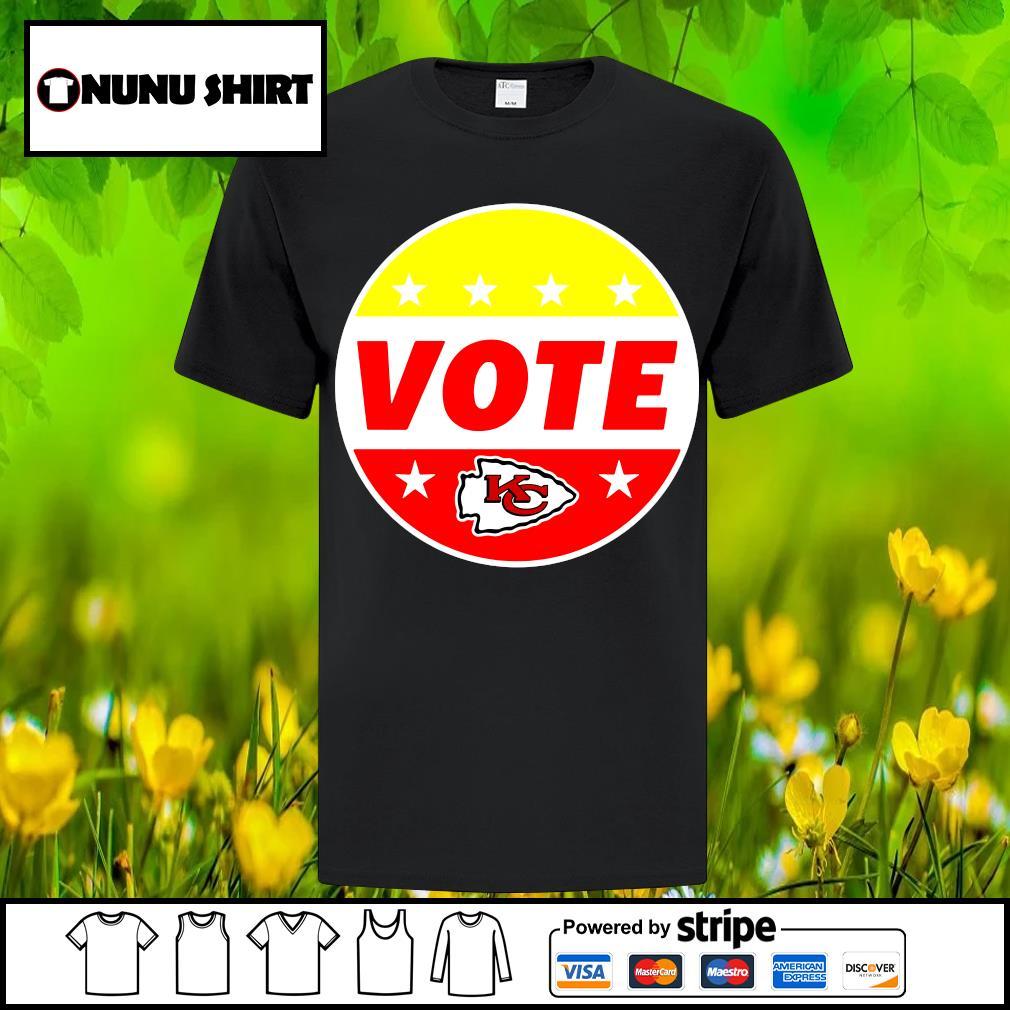 Kansas City Chiefs Patrick Mahomes Chiefs Vote shirt