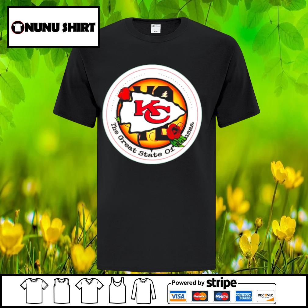 Kansas City Chiefs Vote the great state of Kansas shirt