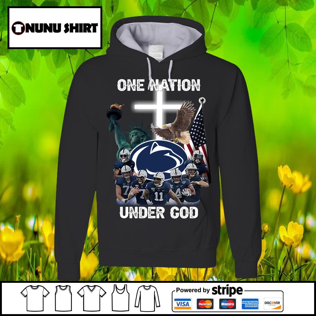 Penn State Nittany Lions one nation under god s hoodie