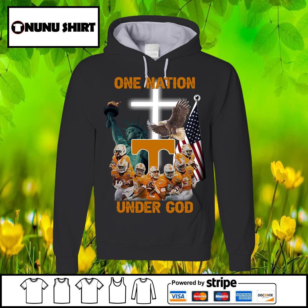 Tennessee Volunteers one nation under god s hoodie
