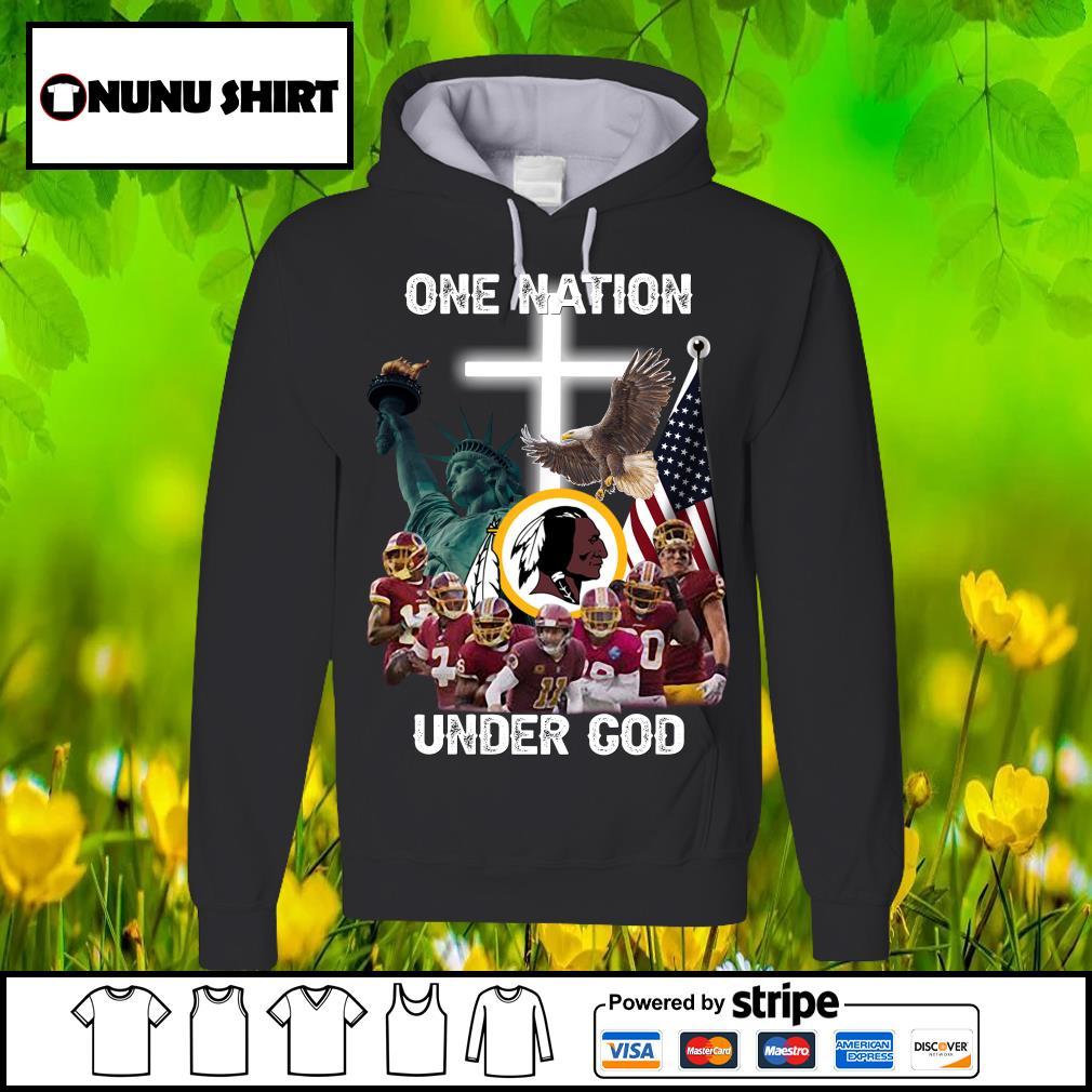 Washington Redskins one nation under God s hoodie