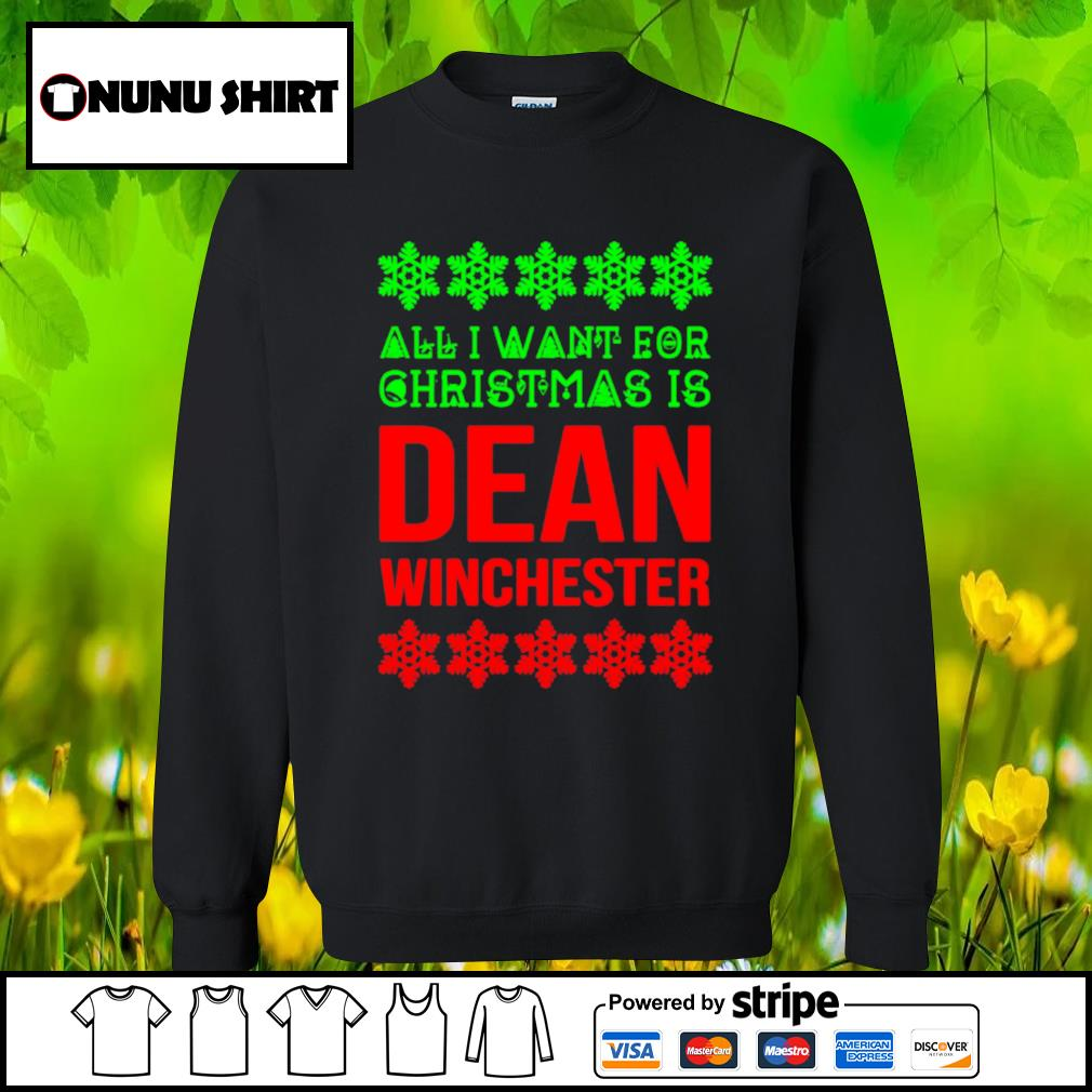 All I want for Christmas is dean winchester s sweater