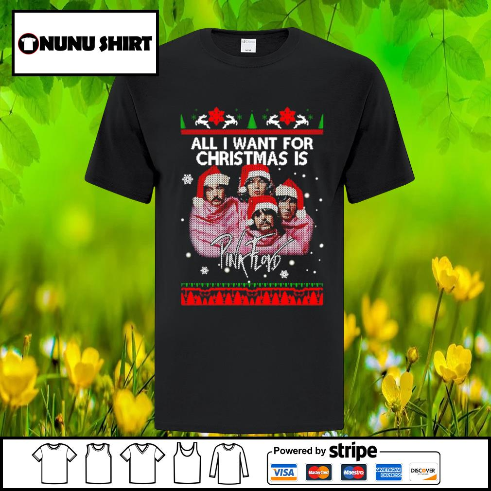 All I want for Christmas is Pink Floyd shirt