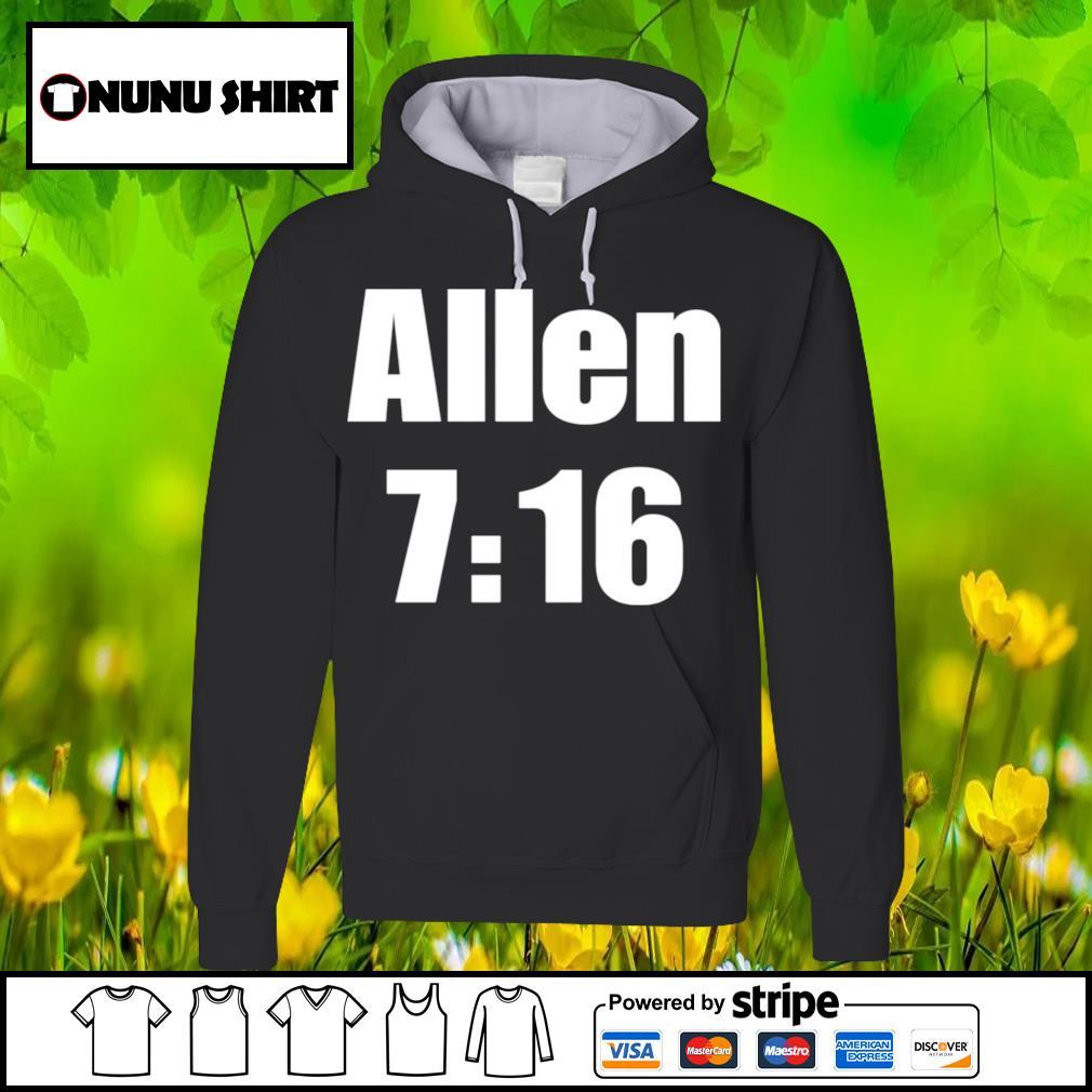 Allen 7 16 s hoodie