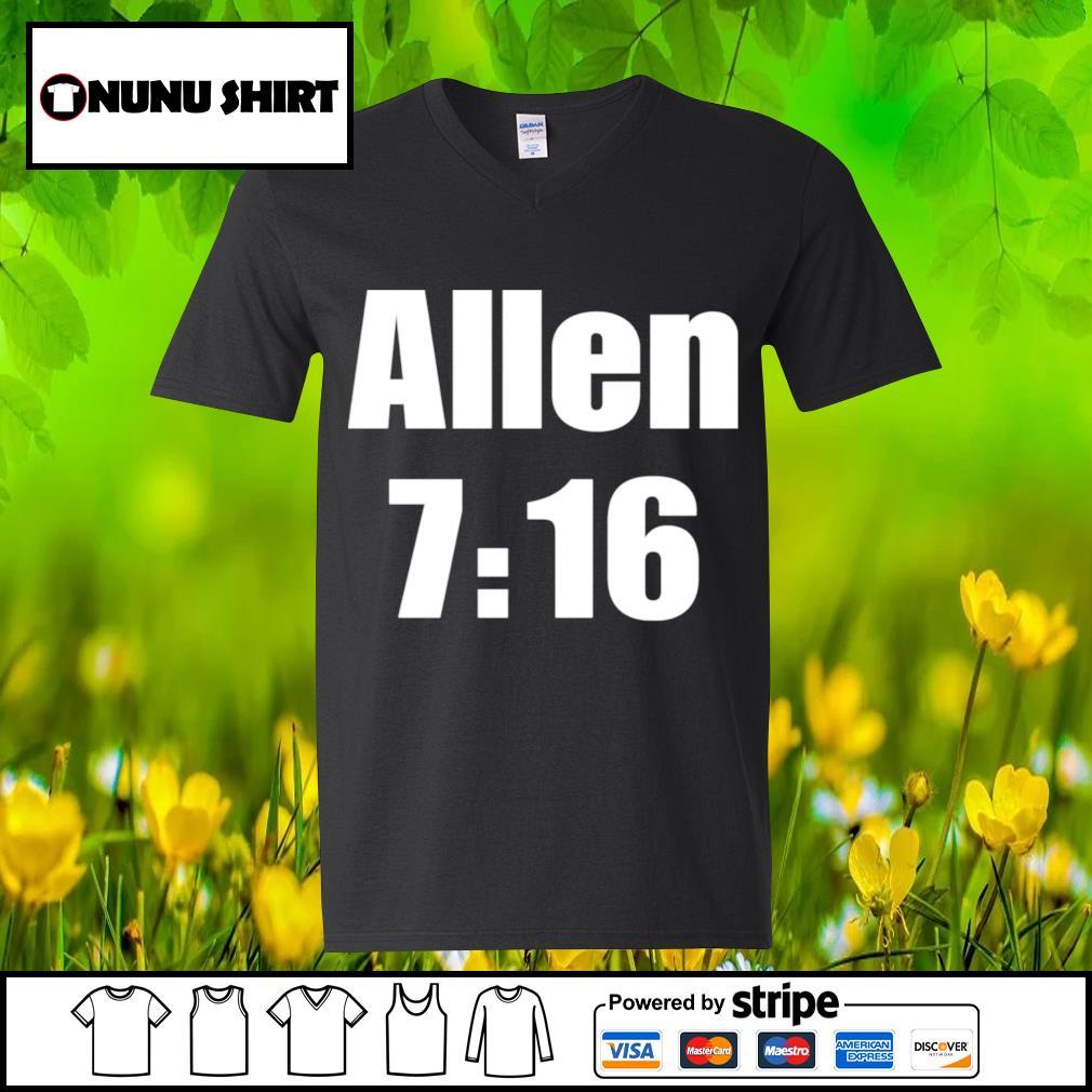 Allen 7 16 s v-neck t-shirt