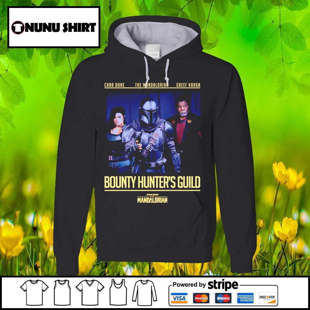Cara dune the Mandalorian Greef Karga Bounty Hunters Guild s hoodie