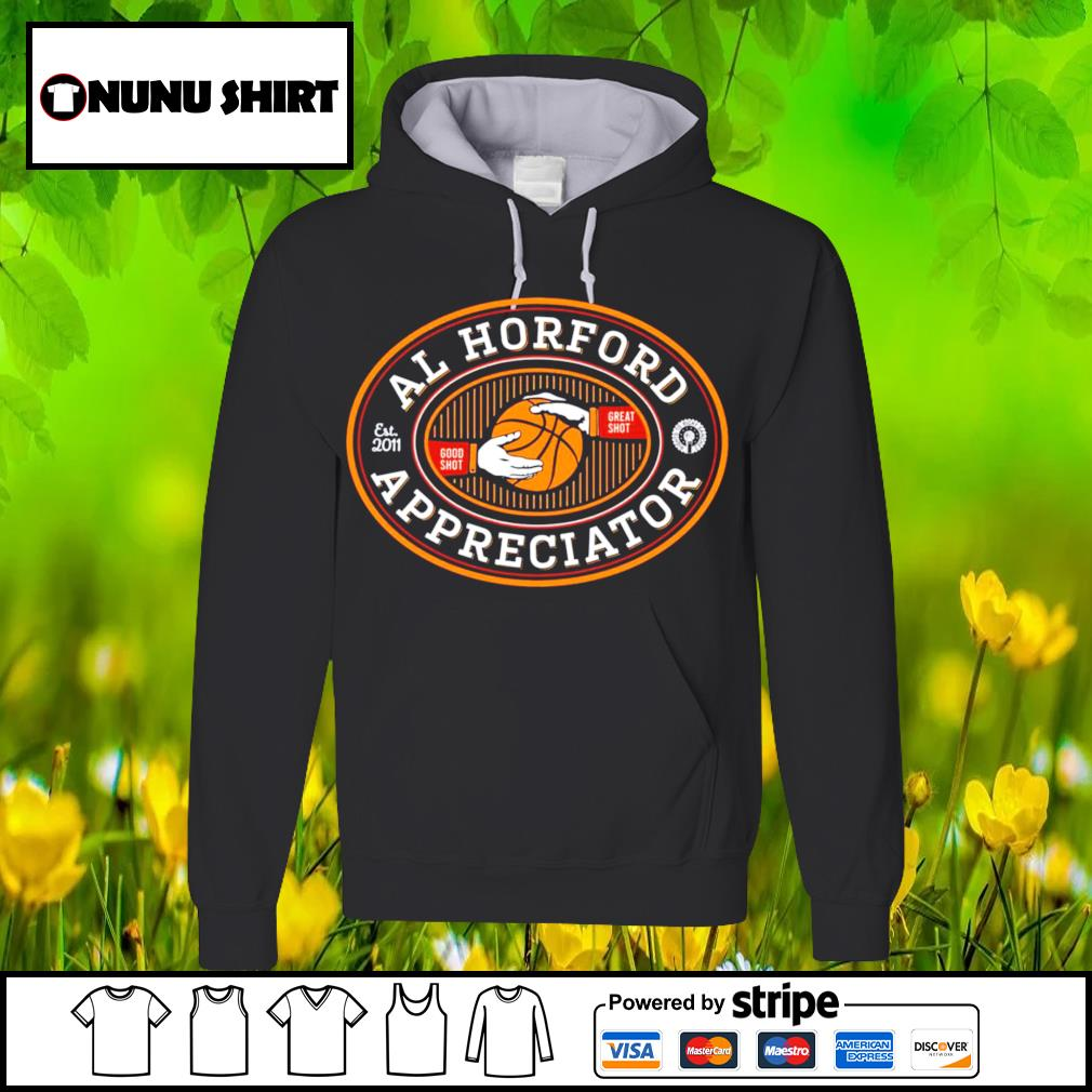 Football Al Horford est 2011 good shot great shot appreciator s hoodie