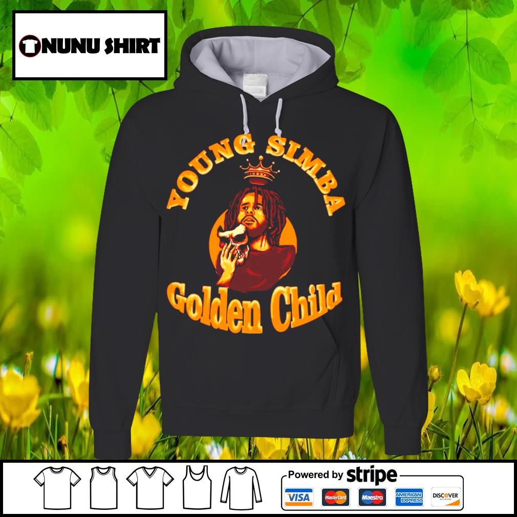 J.Cole young simba golden child s hoodie