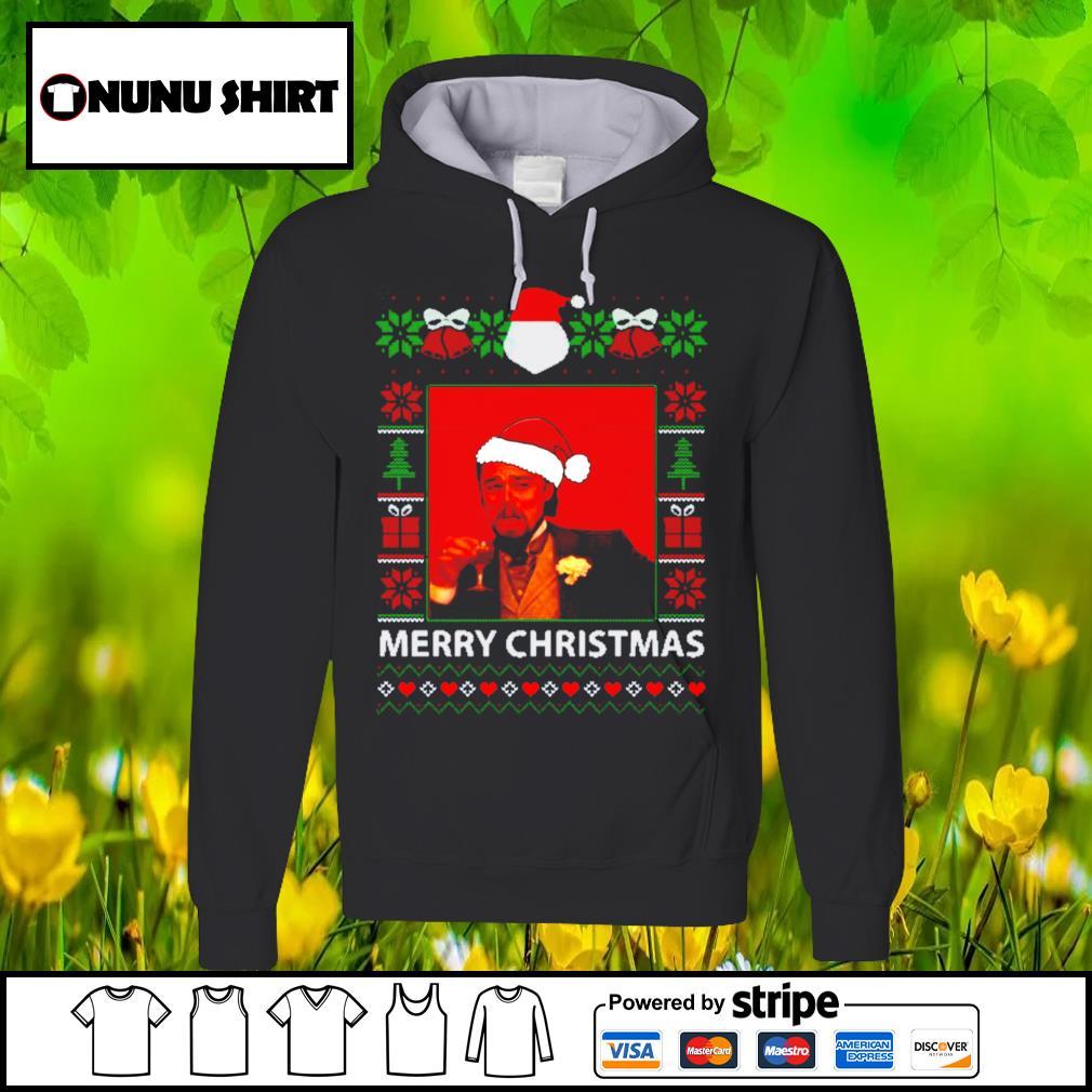 Leonardo Dicaprio Santa hat ugly Merry Christmas shirt, sweats hoodie