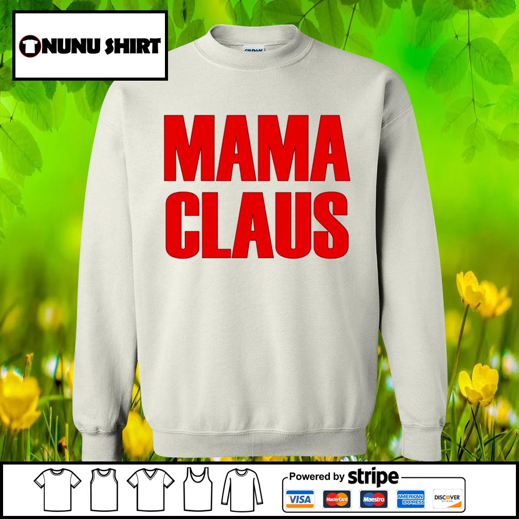Official mama claus s sweater