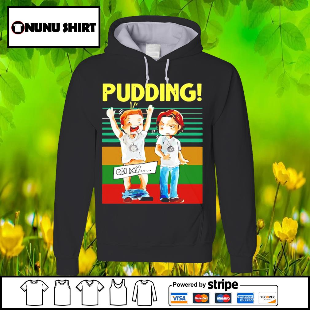 Pudding oh my Supernatural vintage s hoodie