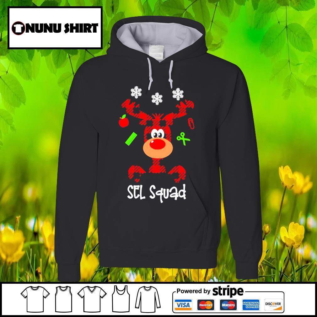Reindeer sel squad Christmas shirt sweater hoodie