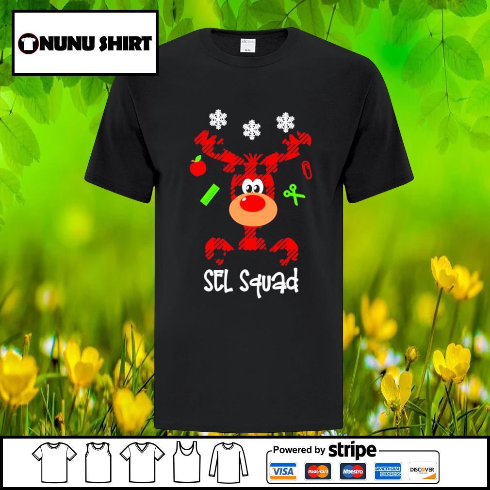 Reindeer sel squad Christmas shirt sweater